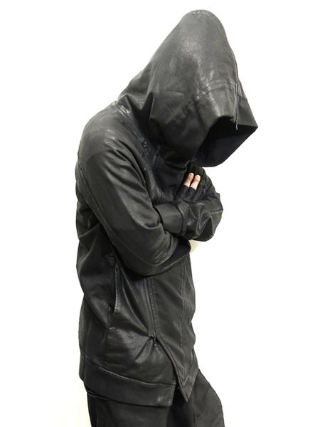 JULIUS coated zipup parka 通販 GORDINI009
