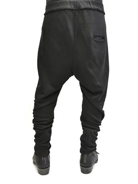 primordial crotch pants black 通販 GORDINI010