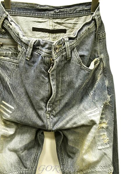 JULIUS rider pants indigo 通販 GORDINI002のコピー