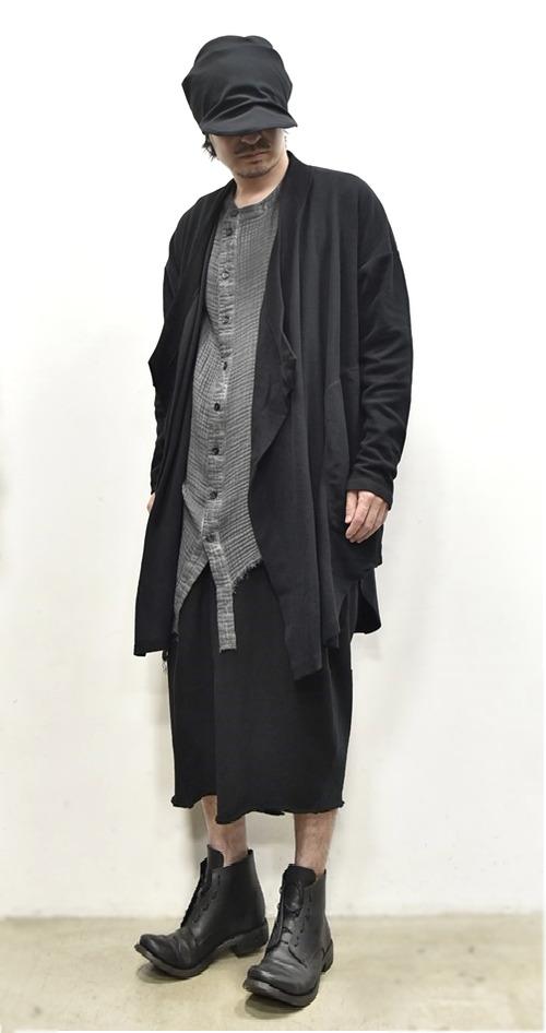 JULIUS Drape Gown 通販 GORDINI008