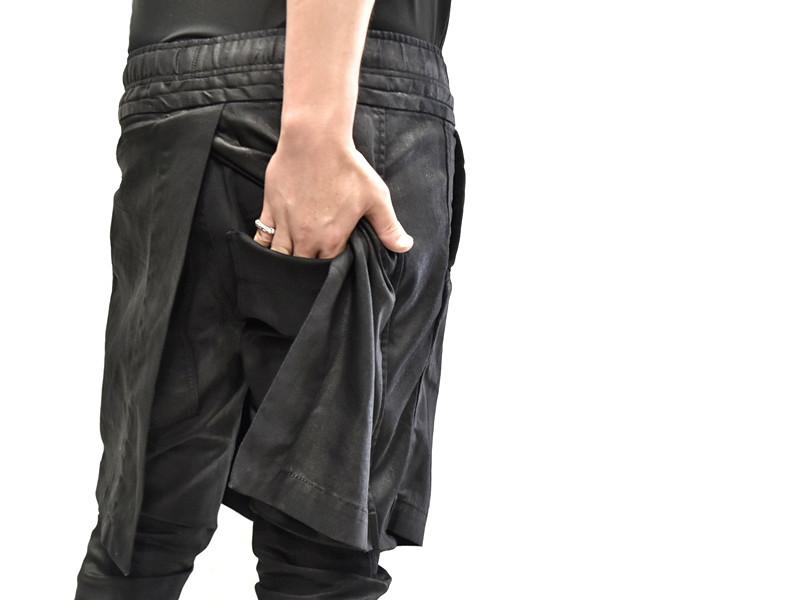 JULIUS skirt pants 着用 接写 通販 GORDINI002