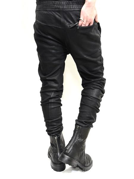 JULIUS coated rider pants 通販 GORDINI006