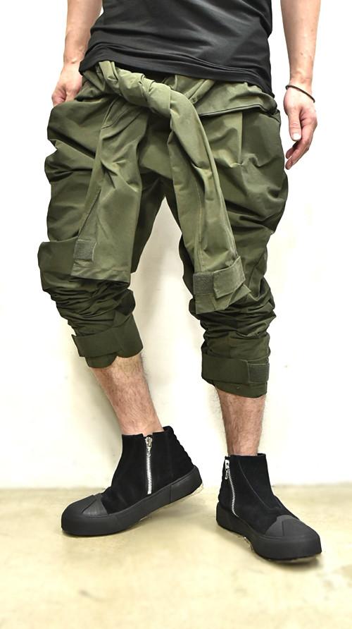 JULIUS Sleeve Baggy Pants 通販 GORDINI005