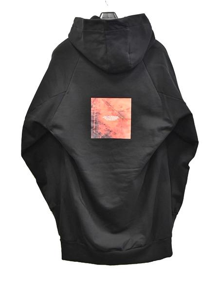 JULIUS print pull hoodie 通販 GORDINI005