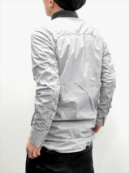 ripvanwinkle ボンディングロングシャツ 通販 GORDINI005
