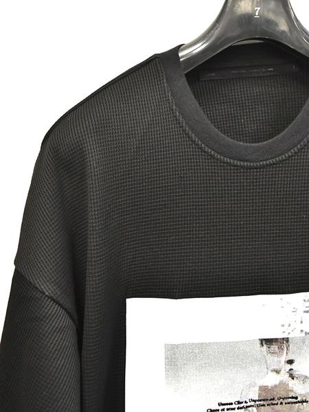 JULIUS waffle print T 通販 GORDINI002