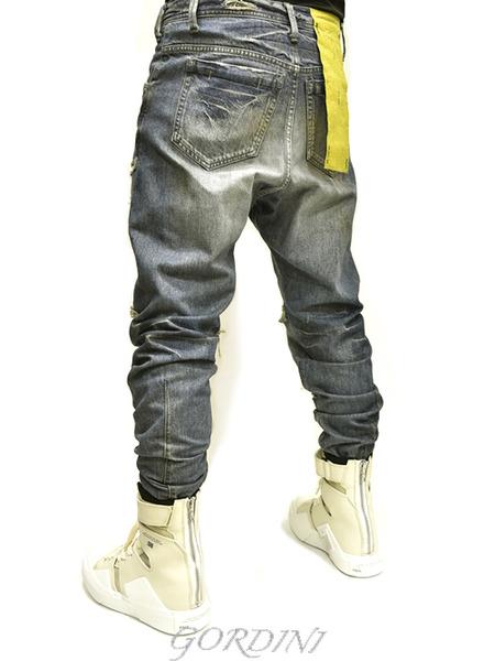 JULIUS rider pants indigo 通販 GORDINI012のコピー