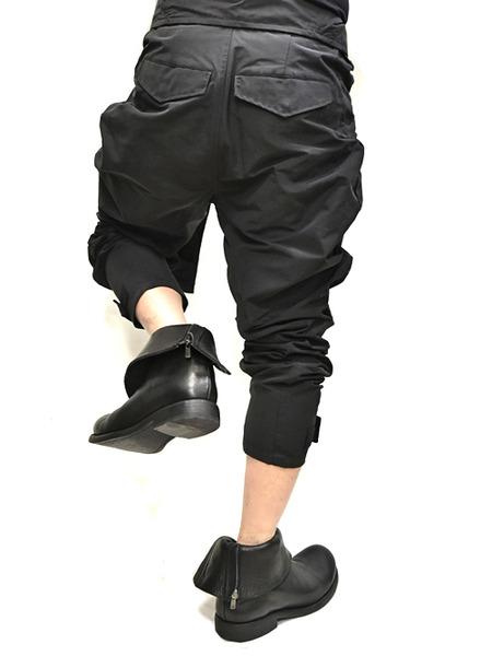 JULIUS Jumpsuit pants black 着用 通販 GORDINI010