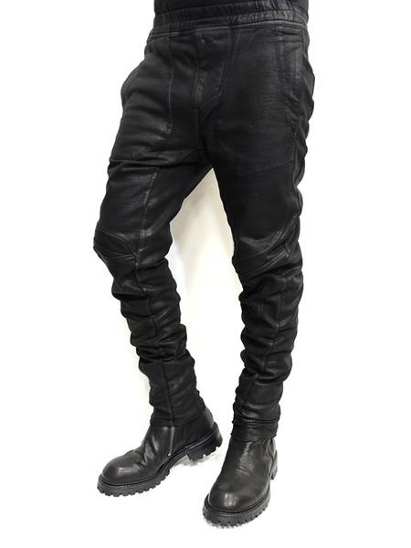 JULIUS coated rider pants 通販 GORDINI008