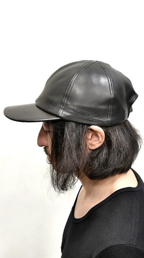 JULIUS  Leather Cap 通販 GORDINI004