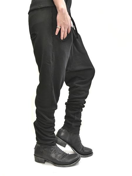 primordial crotch pants black 通販 GORDINI012
