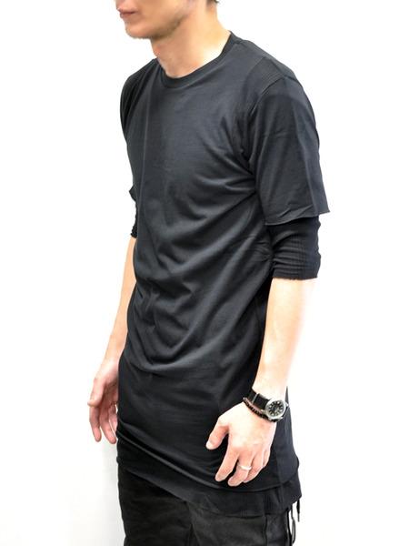 ARMY OF ME WレイヤードコットンTシャツ 通販 GORDINI002