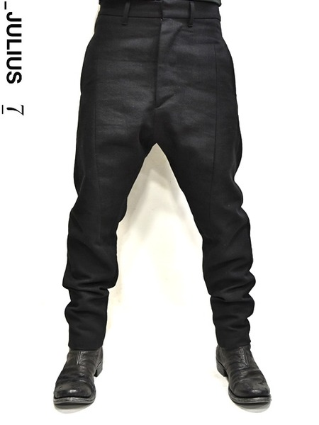 JULIUS crotch pants 通販 GORDINI003