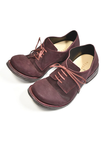 PORTAILLE derby red 通販 GORDINI011