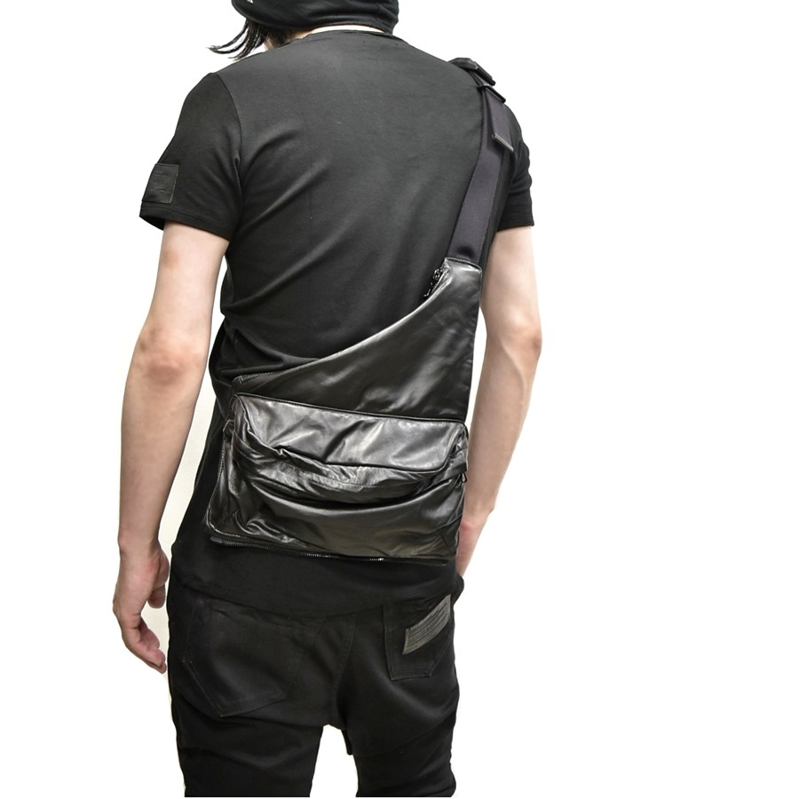 JULIUS bodybag leather 通販 GORDINI003