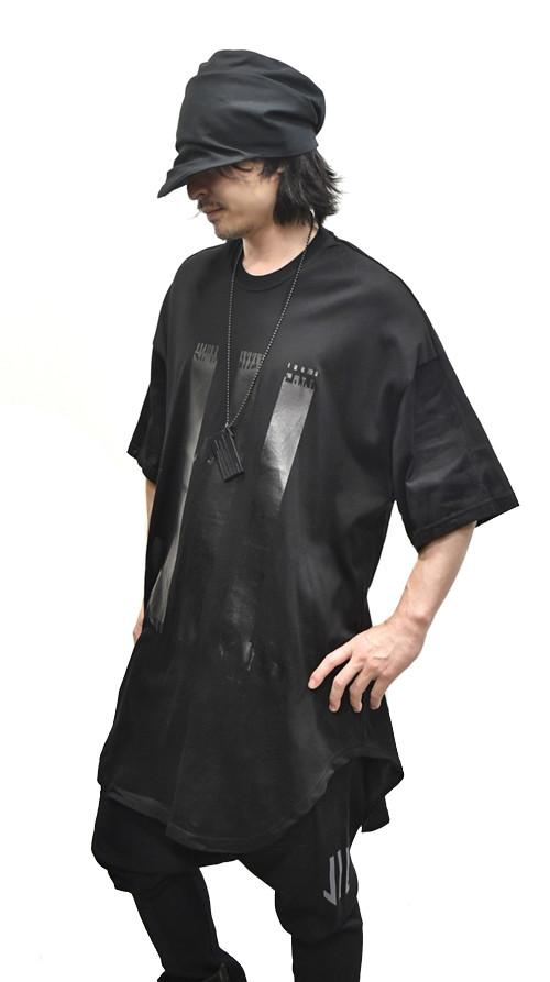 NILS Kamon Round T BLACK 通販 GORDINI002