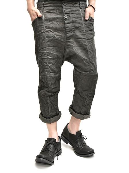 Nostrasantissima drop crotch pants通販 GORDINI009
