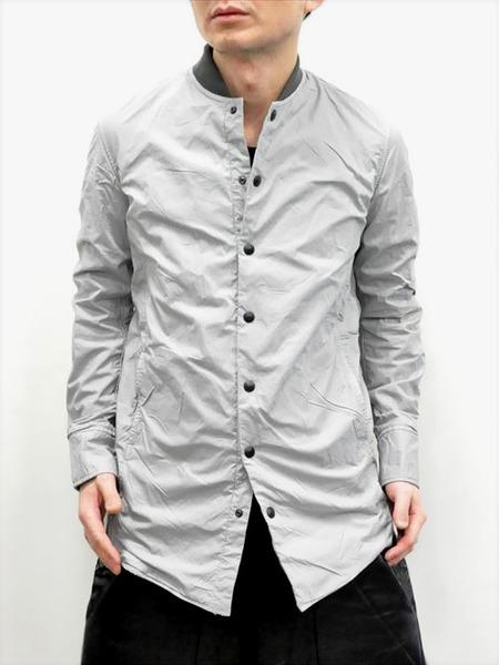 ripvanwinkle ボンディングロングシャツ 通販 GORDINI002
