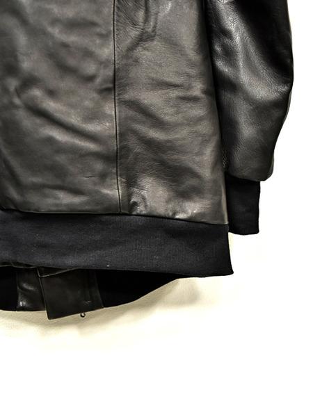 JULIUS leather parka 通販 GORDINI007