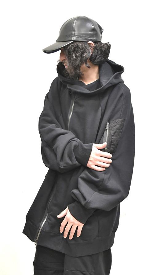 JULIUS MA-1 Style Hoodie 通販 GORDINI002