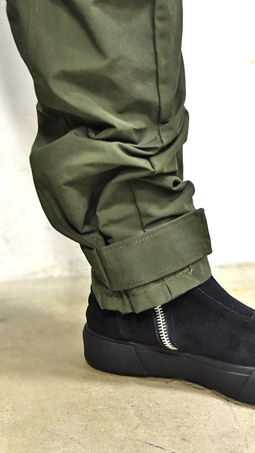 JULIUS Sleeve Baggy Pants 通販 GORDINI008