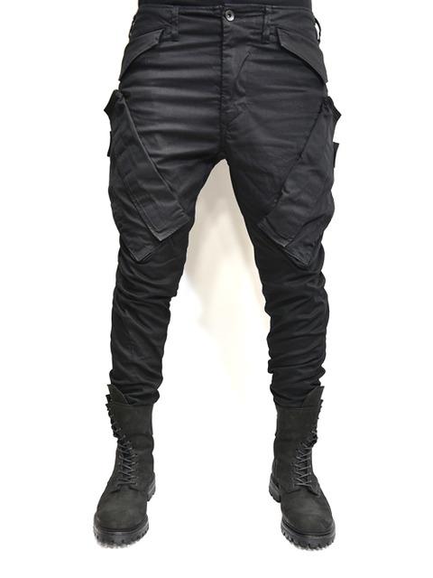 JULIUS ガスマスクパンツ 黒 通販 GORDINI001