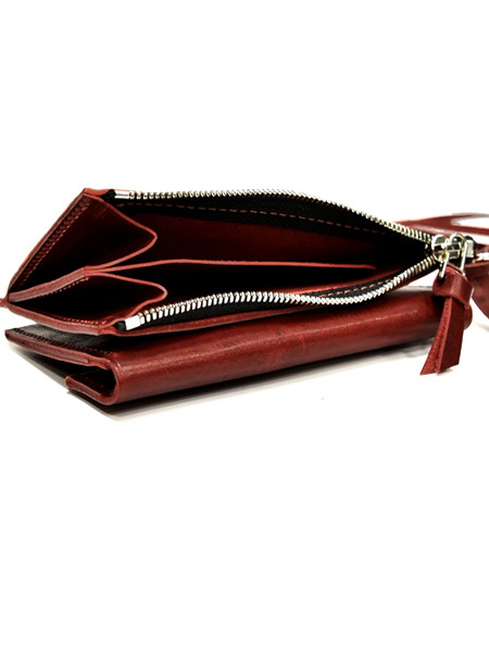 Portaille red purse2 通販 GORDINI010
