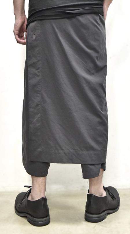 JULIUS wrap pants blk 通販 GORDINI015