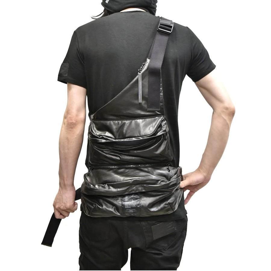 JULIUS bodybag leather 通販 GORDINI005
