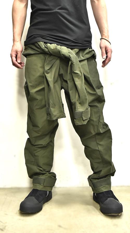 JULIUS Sleeve Baggy Pants 通販 GORDINI001