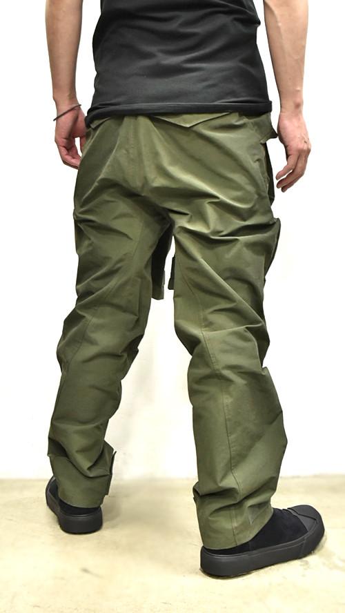 JULIUS Sleeve Baggy Pants 通販 GORDINI004
