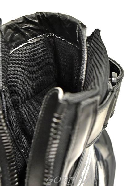 JULIUS スニーカー 黒 通販 GORDINI017のコピー