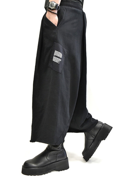 JULIUS wrap baggy 通販 GORDINI010