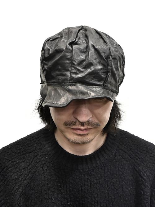 kloshar Leather Cap 通販 GORDINI001