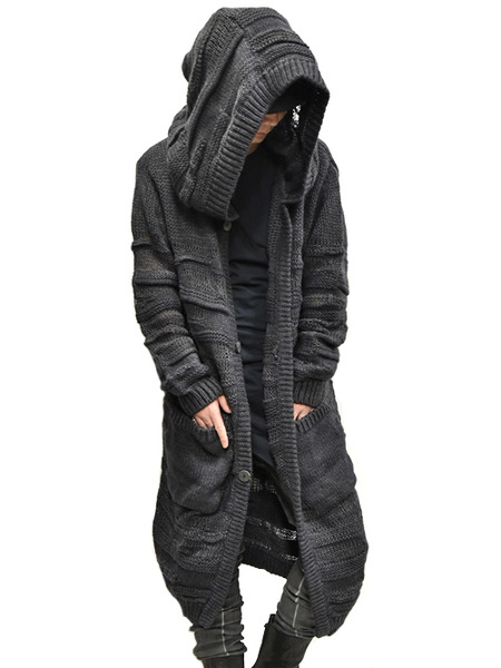 Nostra KNIT HOODED COAT 通販 GORDINI010