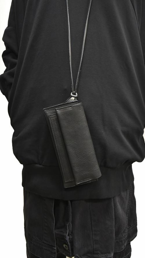 Portaille Neck Strap Long Wallet 着用 通販 GORDINI002