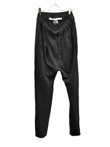 primordial crotch pants black 通販 GORDINI001