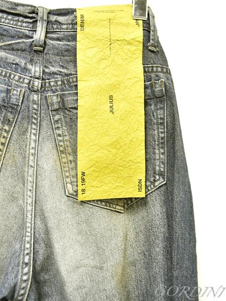 JULIUS rider pants indigo 通販 GORDINI008のコピー