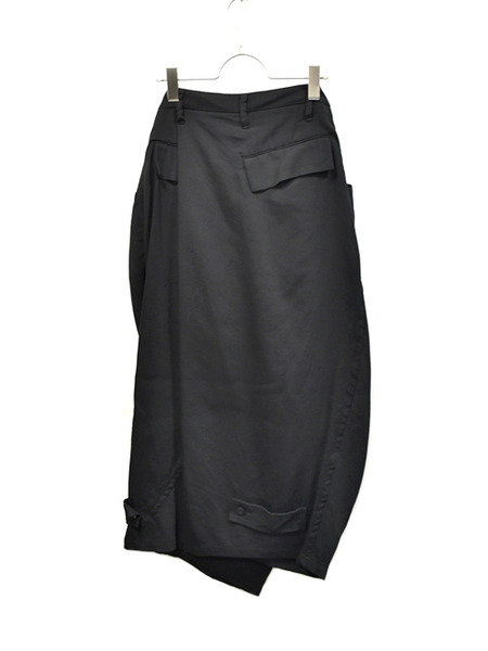 JULIUS wrap baggy trousers 通販 GORDINI005