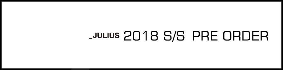 JULIUS2018ss banneraa