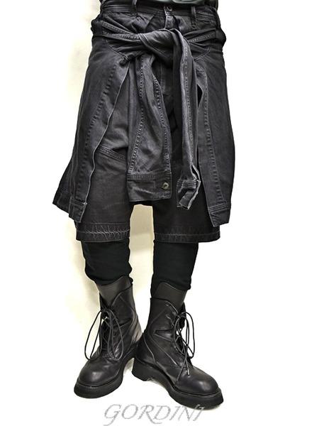 JULUS layered pants 通販 GORDINI002のコピー