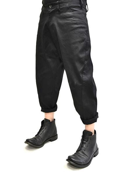 JULIUS bending cropped pants 着用 通販 GORDINI003