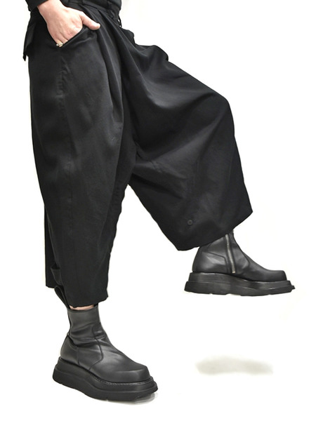 JULIUS wrap baggy trousers 着用 通販 GORDINI007