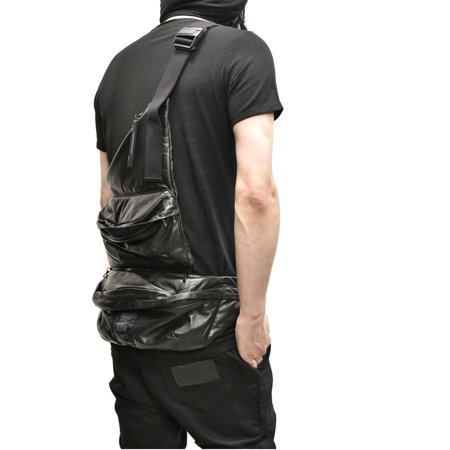 JULIUS bodybag leather 通販 GORDINI006