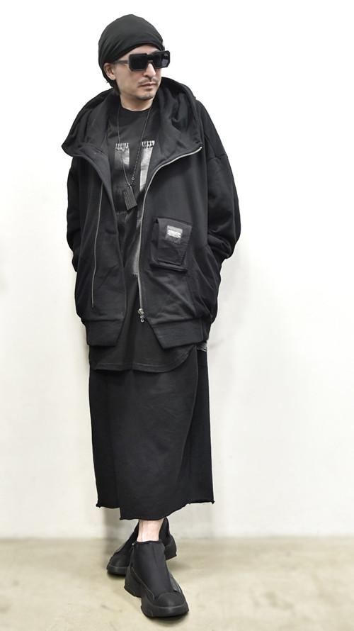 JULIUS Folded Baggy Pants 通販 GORDINI009