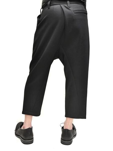 JULIUS tucked slit pants  通販 GORDINI005