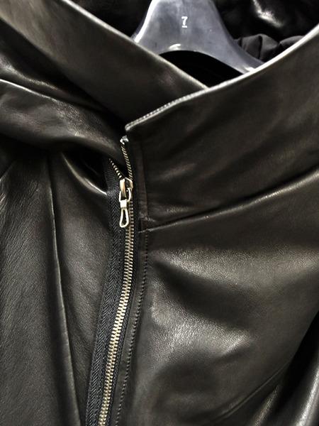 JULIUS leather parka 通販 GORDINI004