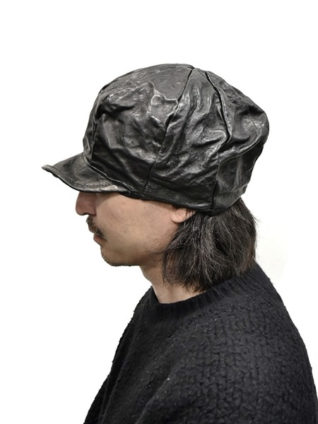 kloshar Leather Cap 通販 GORDINI003