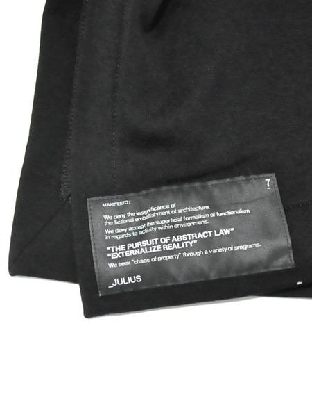 JULIUS ボリュームネック black 通販 GORDINI006