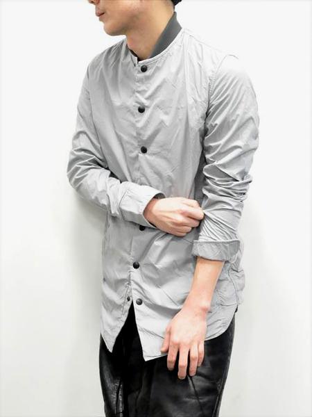 ripvanwinkle ボンディングロングシャツ 通販 GORDINI007